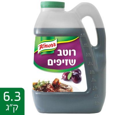 רוטב שזיפים קנור 6.3 ק