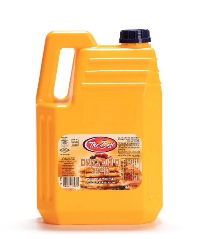סירופ בטעם מייפל 4 ליטר מיטב