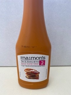 סירופ בטעם מייפל מימונ'ס