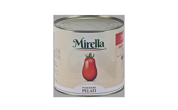 עגבניות מקולפות שלמות ברוטב 2.55 ק