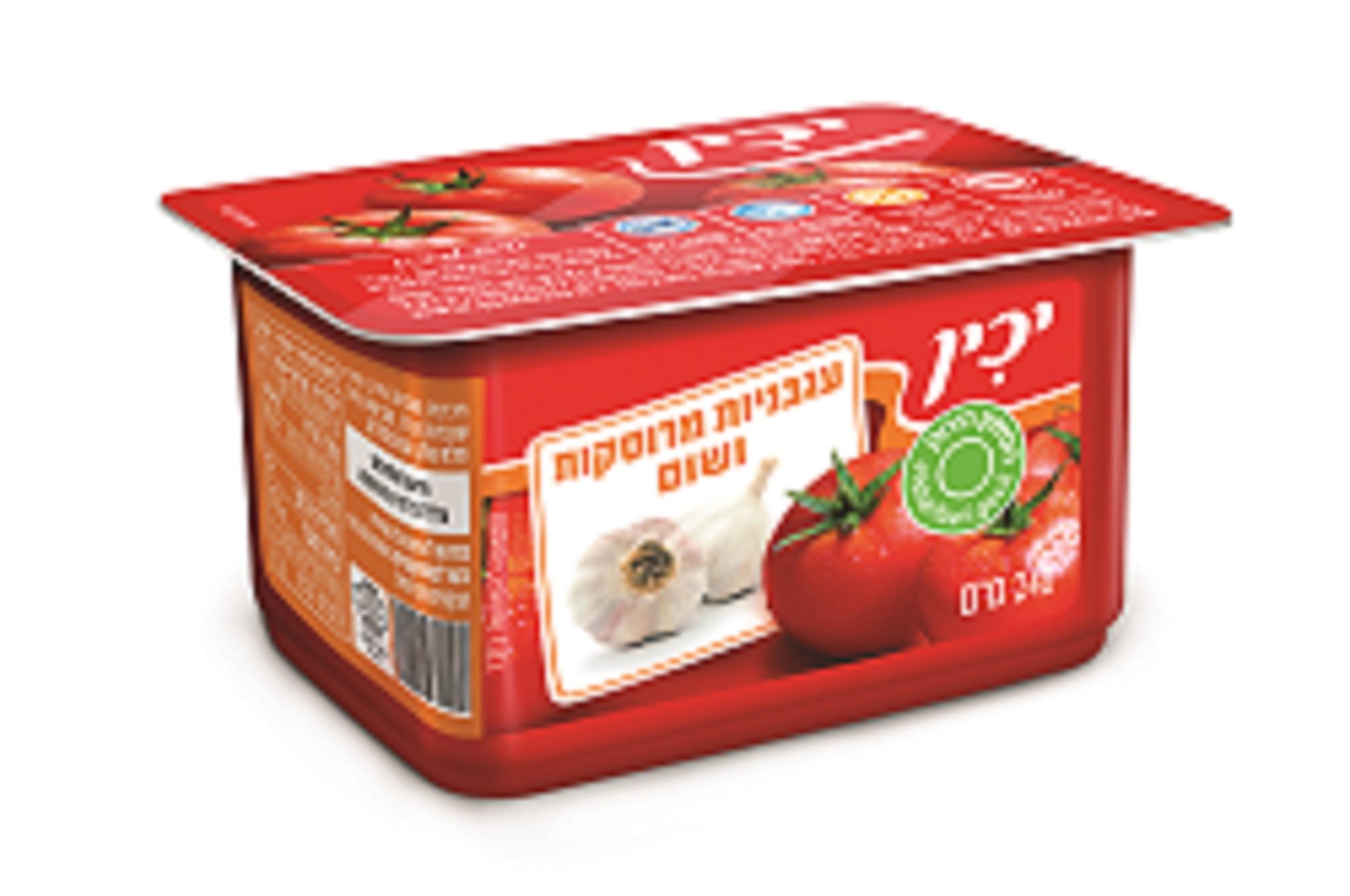 עגבניות מרוסקות ושום 240 ג'