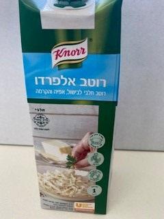 רוטב אלפרדו חלבי קנור