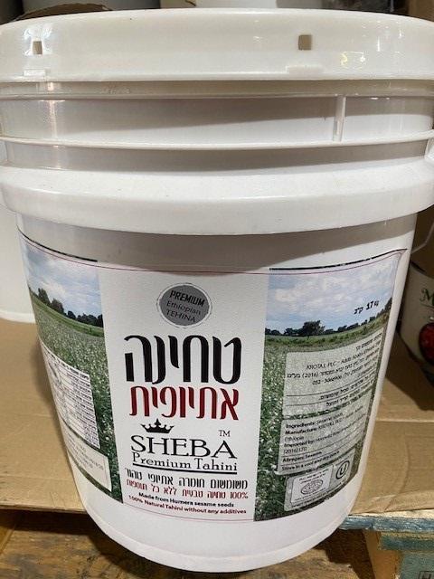 טחינה שבא אתיופית 17 ק